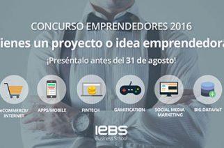 La escuela de negocios IEBS abre su séptimo concurso de emprendedores hasta el 31 de agosto