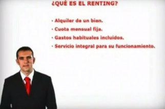 ¿Qué es el renting?