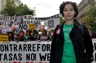 """No somos una """"generación pérdida"""" ¡Somos la juventud que lucha!"""