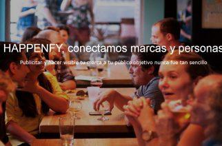 'Happenfy': plataforma que pone en contacto a quienes buscan patrocinadores con las marcas