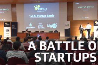 Batalla de las Startups de Inteligencia Artificial